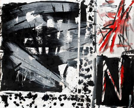 ter Hell · <strong>TH 1</strong> · 2013 · 165 x 185 cm · acrylic on canvas