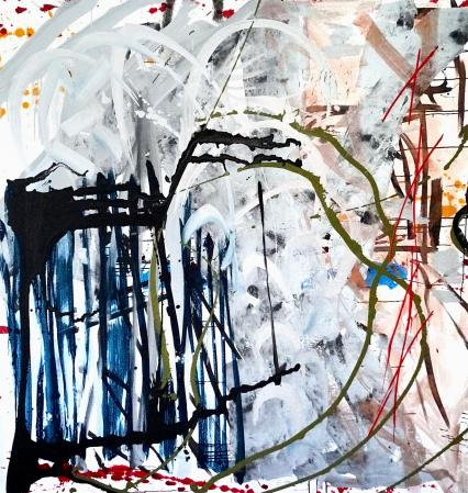 ter Hell · untitled · 2016 · 210 x 200 cm · acrylic on canvas