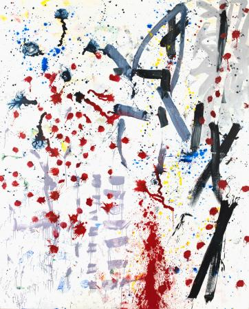 ter Hell · <strong>Holon</strong> · 2012 · 300 x 240 cm · acrylic, spray on canvas