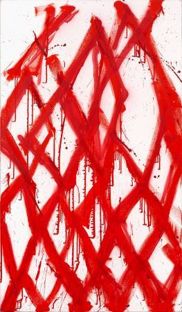ter Hell · <strong>Eclypsoid</strong> · 2012 · 190 x 110 cm · acrylic, spray on canvas
